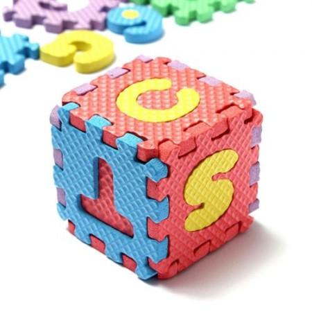 3D puzlė - Raidės