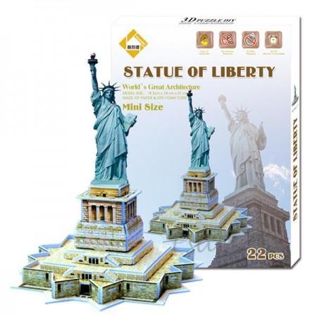 3D Puzlė Laisvės statula