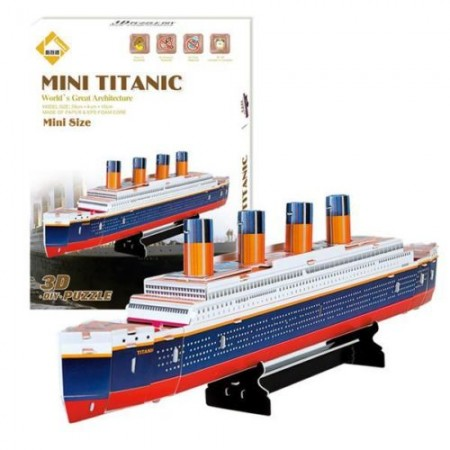 3D puzlė Titanikas